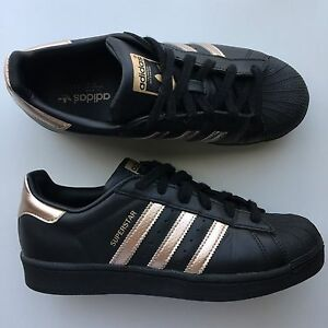 Rose Gold/Black Adidas Superstars Hebersham Blacktown Area Preview