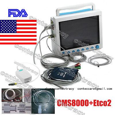 Cms8000 Vital Signs Patient Monitormulti Parameter With Capnograph Etco2 Contec
