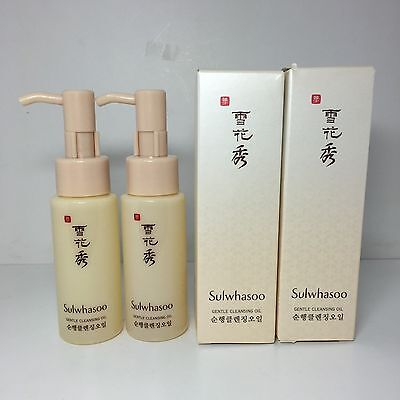 Sulwhasoo Gentle Cleansing Oil 50ml x 2pcs AMOREPACIFIC Korean Cosmetic Skincare