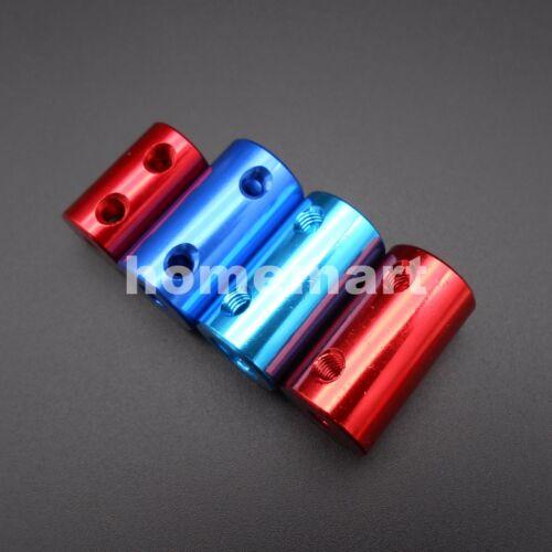 2/3/4/5/6/7/8mm Aluminum Flexible Shaft Coupling Rigid Coupler Motor Connector