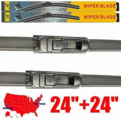 For Dodge Ram 1500 2500 3500 4500 5500 2002-2008 Wiper Blades U &J hook Set of 2