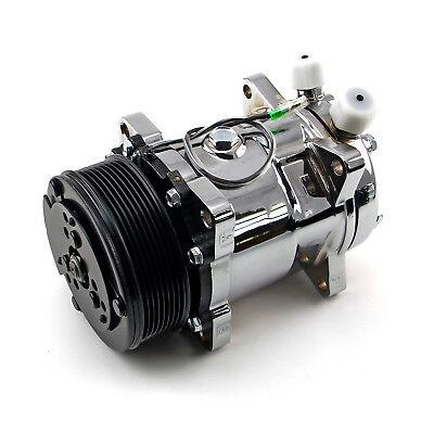 Serpentine Belt Sanden 508 Sytle Chrome Air Compressor