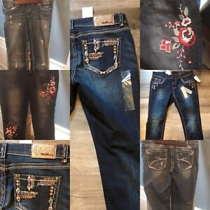 Ladies Designer Jeans- New or Like New!