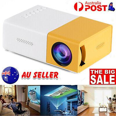 2021 Portable Mini Projector LED HD 1080P Home Cinema Pocket Projector HDMI USB