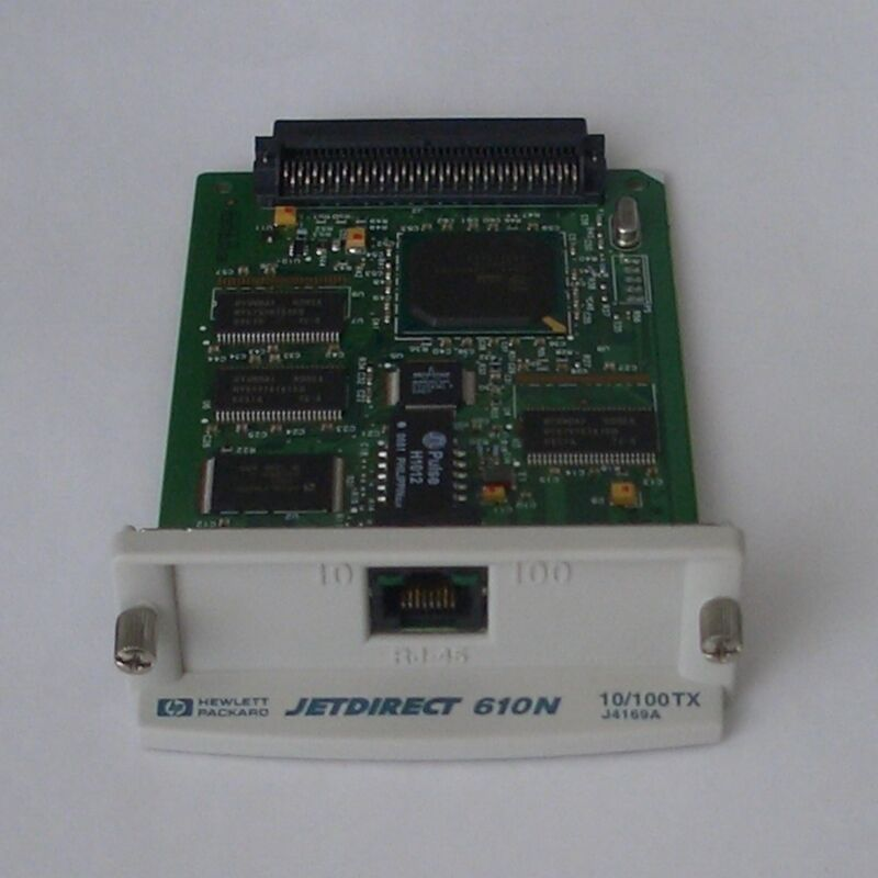 HP JetDirect 610n EIO 10/100TX Ethernet Print Server J4169A