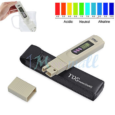 Digital TDS3 Wasser Tester Wasserfilter Messgerät Prüfer Wasserqualität 0-999PPM
