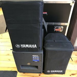 Yamaha PA System Powered
