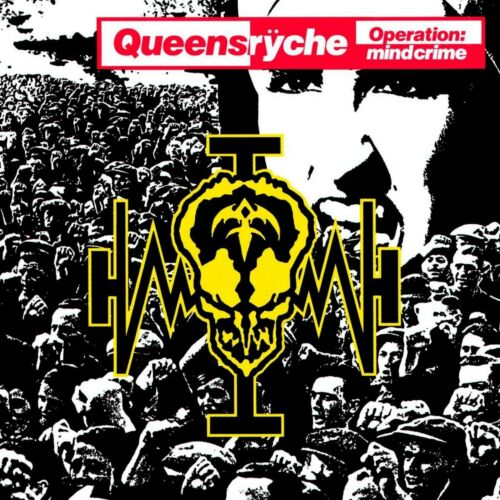QUEENSRYCHE Operation Mindcrime BANNER HUGE 4X4 Ft Fabric Poster Flag Tapestry