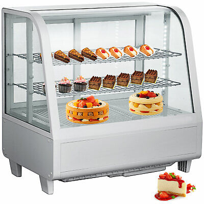 Commercial Countertop Refrigerator 100l Bakery Dairy Display Cooler Case Cake