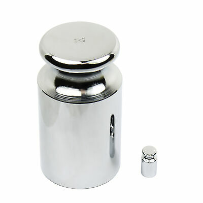 2000g / 2kg Chrome Calibration Weight with 20 Gram Test Weight