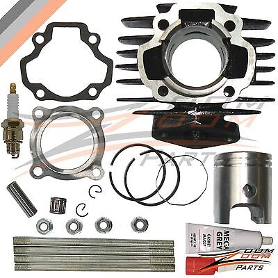 YAMAHA PW 50 PW50 QT 50 QT50 Cylinder Piston Ring Gasket Top End Set Kit NEW