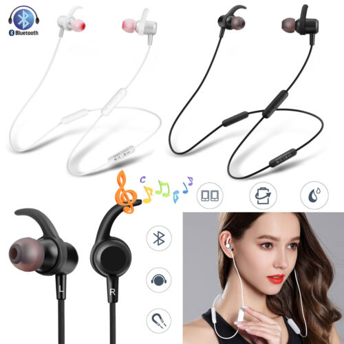Bluetooth Headphones Wireless Earbuds Sport Earphones for Ru