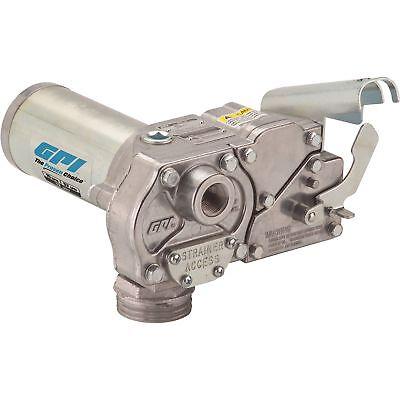 Gpi Fuel Transfer Pump - 12 Volt Dc 15 Gpm Model M-150s-e-po