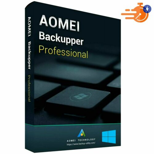 AOMEI Backupper pfofessional V 6.4 - Full Version
