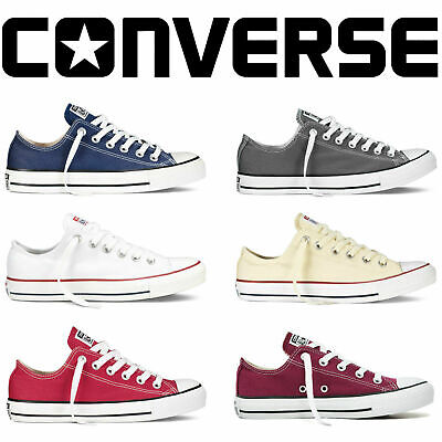 Converse Unisex Chuck Taylor Classic All Star Low/High Tops Canvas Trainers New