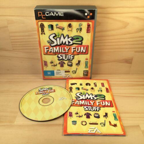 Computer Games - THE SIMS 2 FAMILY FUN STUFF Kids Simulation Drama Computer PC Game (2006) EA