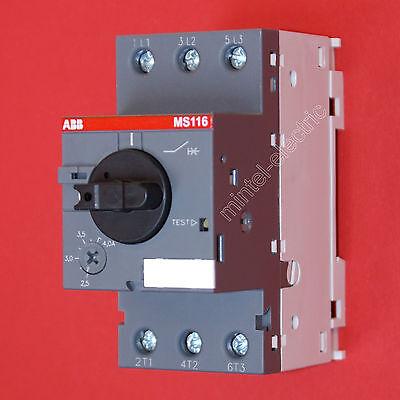 ABB Motorschutzschalter  MS116-4.0 einstellbar 2,5...4,0 A