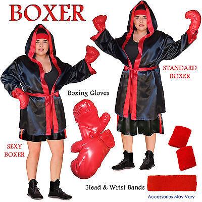 Boxer Robe Tank & Shorts PLUS SIZE Halloween - Tank Kleid Kostüme