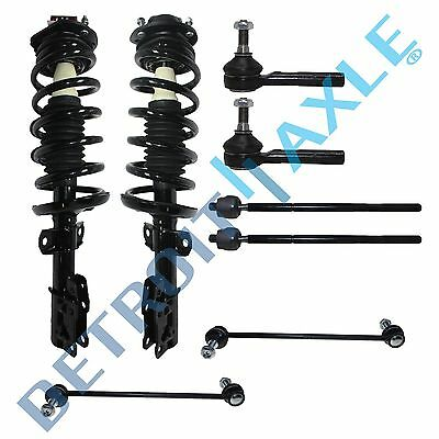 8pc Front Strut Sway Bar Link Inner Outer Tie rods Pursuit HHR G5 2.2L 2.4L