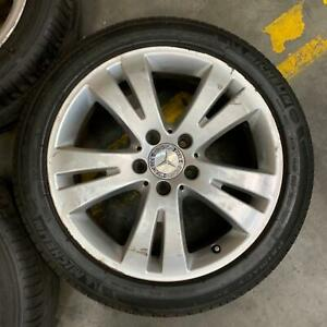 Mercedes C class w204 wheels and tyres genuine Port Melbourne Port Phillip Preview