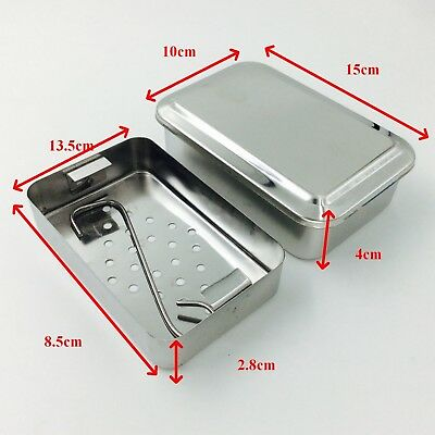 Stainless Steel Instruments Tray Case Immersion Disinfection Tray Surgical