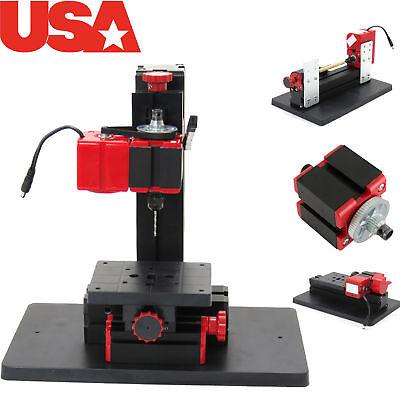 6in1 Multifunction Jigsaw Drilling Sanding Wood-turning Lathe Milling Machine Ne