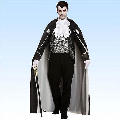 Edles Vampirkostüm Gr. 48-52 Kostüm Vampir Dracula  Blutsauger Männer - Vampir Kostüm Männer