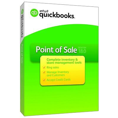 Quickbooks Point Of Sale V18 Basic With Payments Pc Download Cd