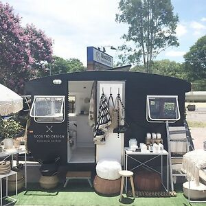 Travelling Homewares Store - Vintage Caravan Pop Up Shop Karana Downs Brisbane North West Preview