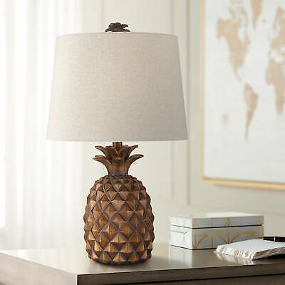 Paget Brown Pineapple Accent Table Lamp