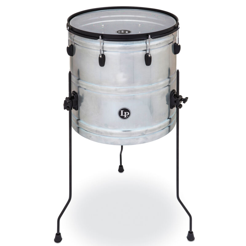 "Latin Percussion LP Raw Street Cans 18"" Street Can"