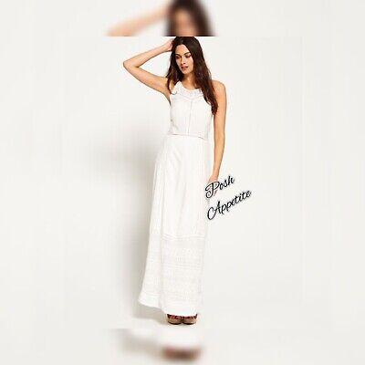 SUPERDRY Vintage Harmony Maxi Dress sz Medium