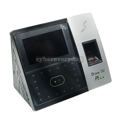 Zksoftware Iface702 Biometric Identification Time Attendance Face Reader Finger