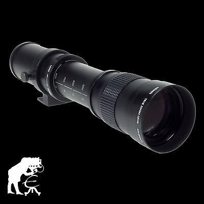 Dörr Telezoomobjektiv 420-800mm/8,3 T2 für Sony Alpha 37, 58, 68, 77...A-Mount