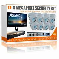 Videoüberwachung Set mit Monitor 28 Zoll UltraHD 4K Rekorder Nordrhein-Westfalen - Borken Vorschau