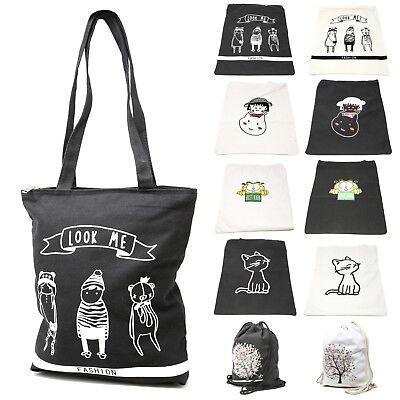 Cartoon Tote Bag (Women's Cartoon Print Tote Bag Shoulder  Carry Shopping Bag Garfield Cat Maruko )
