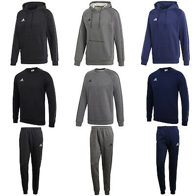 Adidas Mens Core Hoodies Hoody Sweatshirt Jumper Tracksuit Pants All Sizes