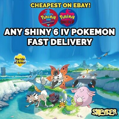 Pokemon Sword & Shield | Any Custom Pokemon | Crown Tundra + Isle of Armor!!!