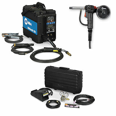 Miller Multimatic 200 MIG, TIG, Stick Welder Pkg. w/ Spool Gun (951586 & 300371)