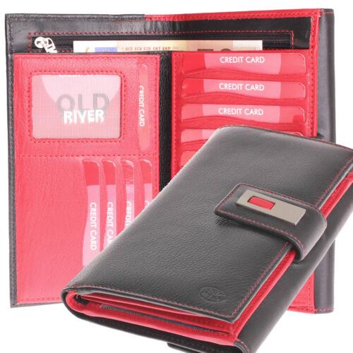 XL große Damen Portemonnaie Geldbörse Geldbeutel Leder viele Karten neu