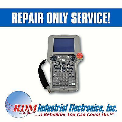 Repair Only Yaskawa Motoman Jznc-xpp02b Yasnac Xrc Teach Pendant