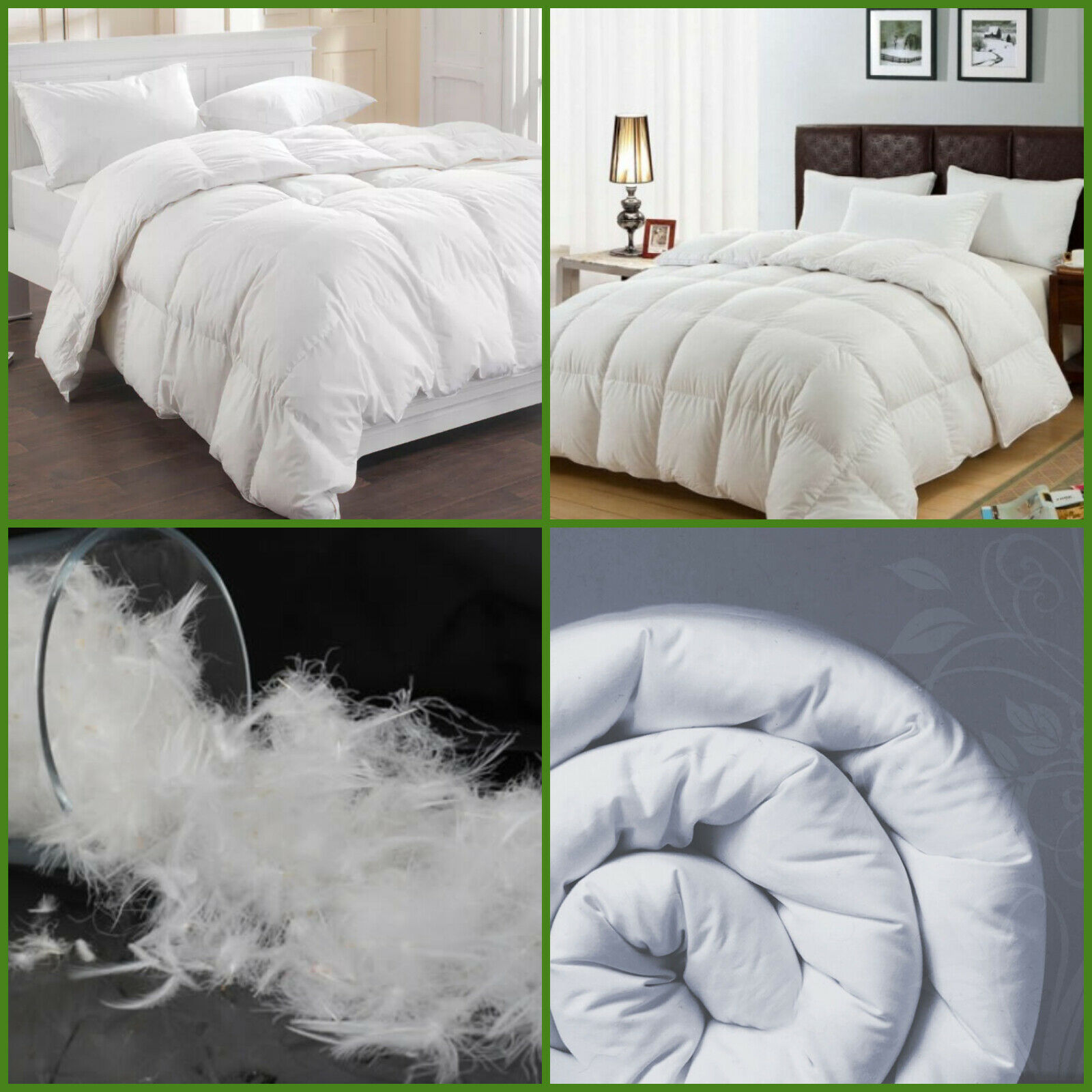 LUXURY HOTEL QUALITY DUCK FEATHER /& DOWN DUVET QUILT 13.5 TOG
