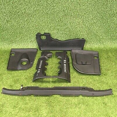 JAGUAR XJ SPORT X308 3.2 V8 - ENGINE COVER ENGINE BAY COMPARTMENT TRIM PANEL SET