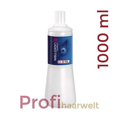 Wella Welloxon Perfect Oxidant / Entwicker, frei wählbar, 6%, 9%, 12%, 1000 ml