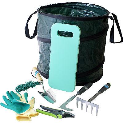 8 Stück Garten Werkzeug Kit/Set -unkraut Pflanze Pruning-Hand Kelle Knien Sack (Garten-werkzeug-kit)