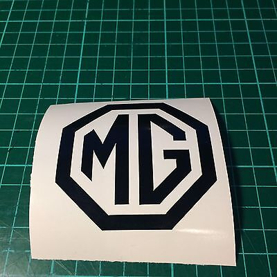 MG Logo Car/Bumper/Window Sticker/Decal  for ZR/ZT/TF/MGB