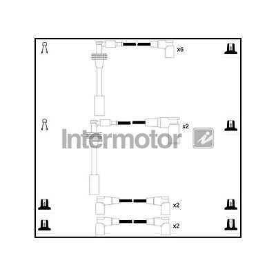 Genuine Intermotor Ignition Cable Kit - 76240