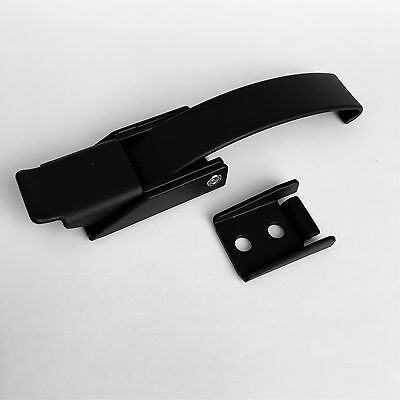 Southco Over Center Latch With Keeper Draw Latch Black Powder Coated Steel