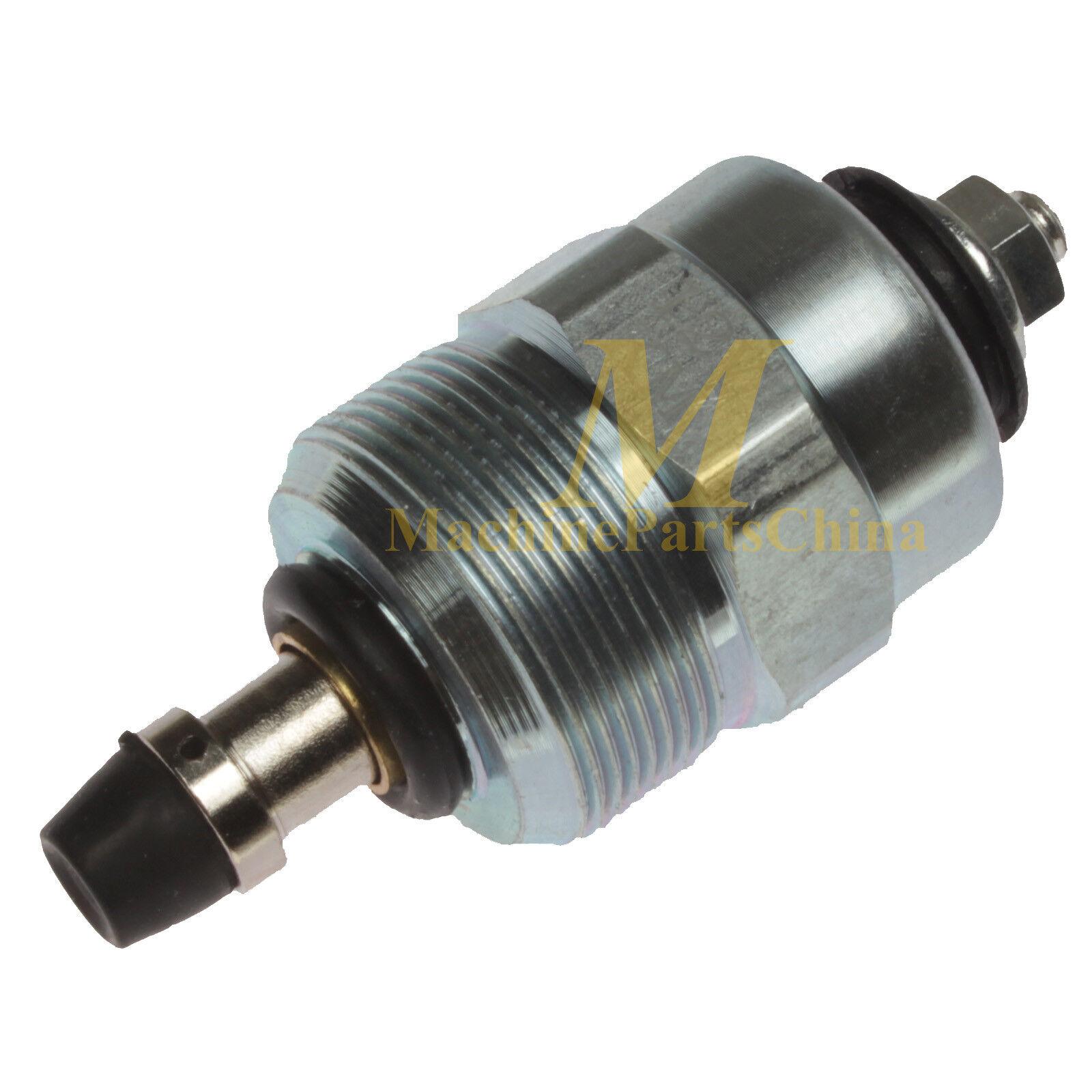 Fuel Pump Solenoid For Yanmar L100V L100AE Diesel Generator Engine 12V