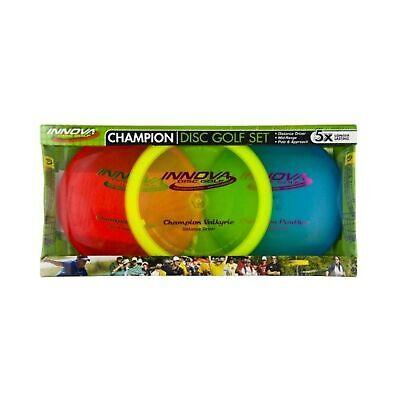 Innova - Champion Discs Golf Set – Driver, Mid-Range & Putte 3set